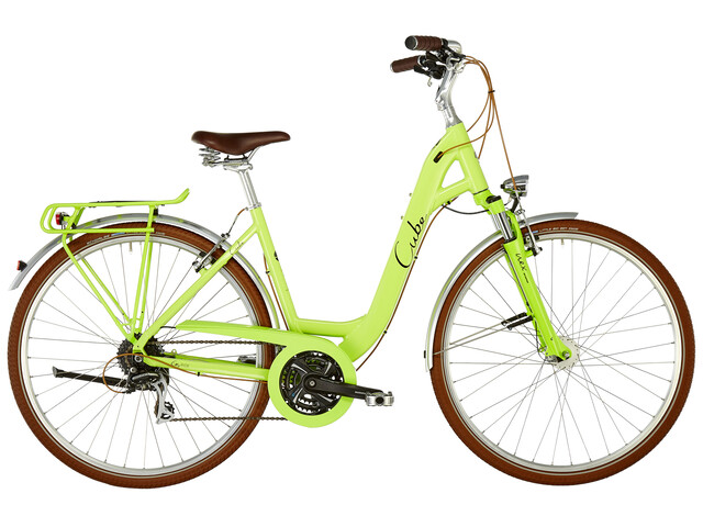 Cube Elly Ride Citybike Easy Entry grøn